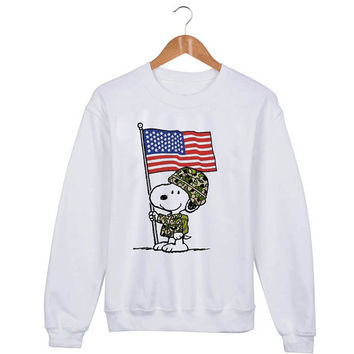 The Peanuts Movie Snoopy Sweater sweatshirt unisex adults size S-2XL