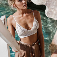 Buy Simone Lace Crop Online by SABO SKIRT