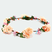 Crown-ie Sundae Peach Flower Crown