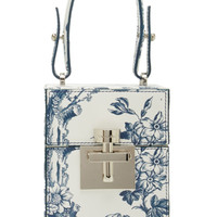 Floral Printed Alibi Box Top Handle | Moda Operandi