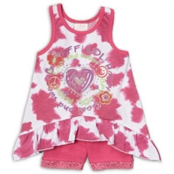 NANNETTE Girls Infant 2PC Biker-h37823