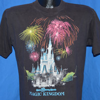 80s Walt Disney World Magic Kingdom Castle t-shirt Medium