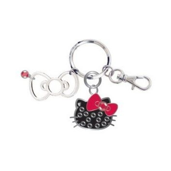 Sanrio Hello Kitty Face Key Chain with Box : Polka Dot $16.99
