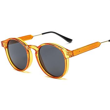 Round Luxury Vintage Unisex Sun Glasses