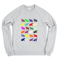 Frogs-Unisex Heather Grey Sweatshirt