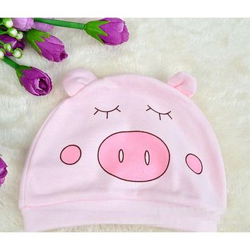 Cute Baby Knitted Soft Warm Cotton Beanie Hat For Toddler Baby Kids Girl Boy Baby Winter Hats New Born Caps