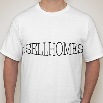 iSellHomes Gildan Ultra Unisex Cotton T-Shirt in sizes Small to 3XL.