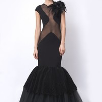 Dress - Qusi - Black