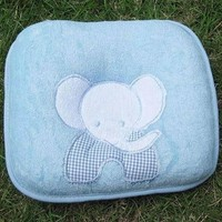 Baby Elephant  Cotton Pillow
