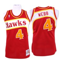 Spud Webb 1986-87 Authentic Jersey Atlanta Hawks Mitchell & Ness Nostalgia Co.