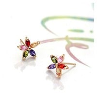 Vibrant Summer Flower Earrings - Lilidoo