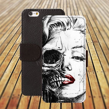iphone 5 5s case skull case iphone 4/ 4s iPhone 6 6 Plus iphone 5C Wallet Case,iPhone 5 Case,Cover,Cases colorful pattern L136