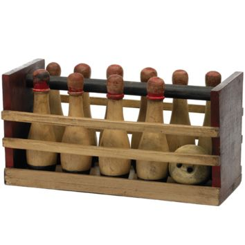 Arbor Wooden Bowling Set