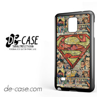 Superman Superhero Comic Book For Samsung Galaxy Note 4 Case Phone Case Gift Present