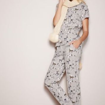 Buy Oatmeal Woodland Pyjamas online today at Next: United States of America