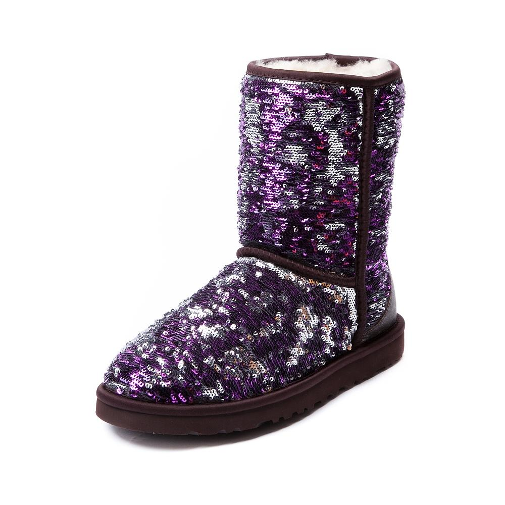 f5b6e63a333 Womens UGG® Classic Short Sequin Boot, from Journeys