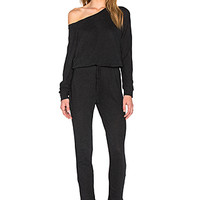 Boyfriend Jumpsuit in Black