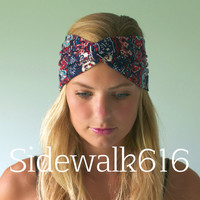 Paisley Turban Headband
