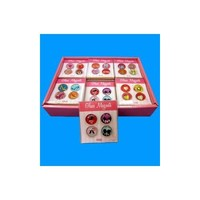 Assorted Glass Magnets - Set of 4 (LOVE)