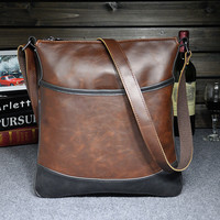 casual leather bag gift