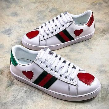 GUCCI Ace Embroidered Low Top Sneaker #6 - Best Online Sale
