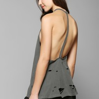 Truly Madly Deeply Disintegrated T-Back Tank Top - Urban Outfitters