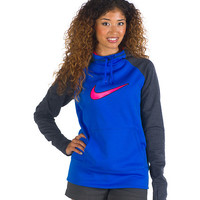 SWOOSH OUT ALL TIME HOODIE - Royal - NIKE