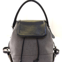 Gray Texture Backpack