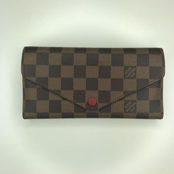 One-nice™ Louis Vuitton Josephine Wallet In Damier Ebene