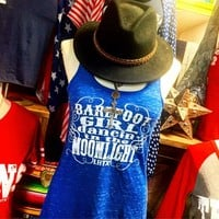 """""""Barefoot girl dancing in the moonlight"""" flowy tank from PeaceLove&Jewels"""