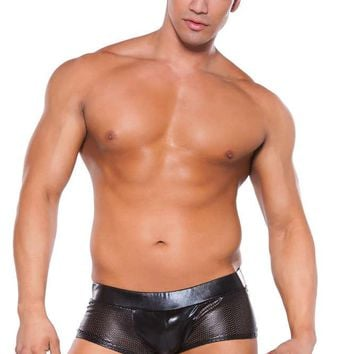 Allure Lingerie Male Zeus Wet Look Shorts 33-3042Z