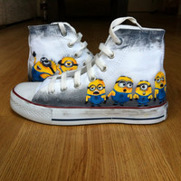 Minion Shoes Converse
