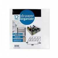 12 Section Drawer Organizer (pack of 4)