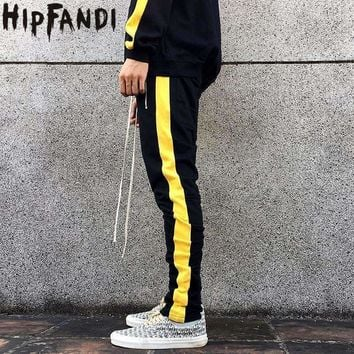 Mens Zipper Pocket Track pants