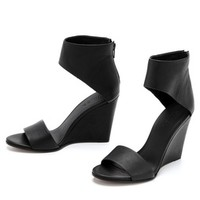 Vince Kelan Wedge Sandals