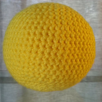 Crochet Sun, Space Solar System, Stuffed Plush Geek Toy, Made to Order