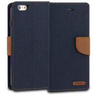 Denim Phone Diary Case