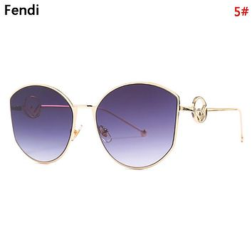 Fendi Women Fashion New Polarized Sunscreen Travel Leisure Eyeglasses Glasses 6#
