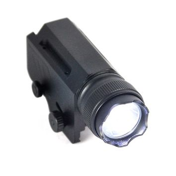 2000Lumen XML L2 Led 1-Mode LED Tactical Gun Flashlight