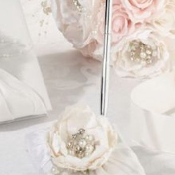 Chic and Shabby Bridal Pen Set