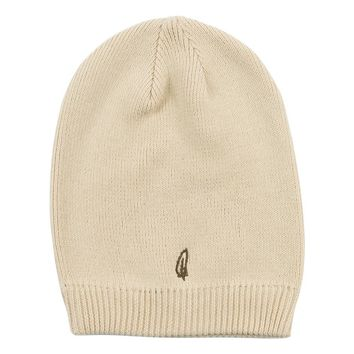 Cinder + Salt - Organic Cotton Feather Slouchy Beanie