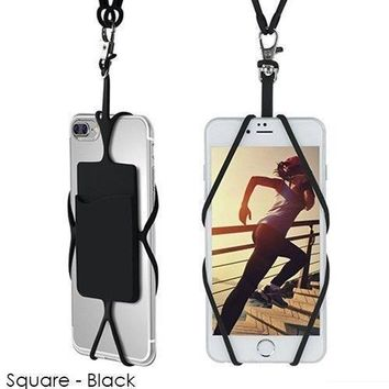 Universal Smartphone Lanyard Necklace and Wrist Strap
