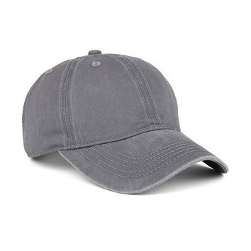 VANCIC Low Profile Washed Brushed Twill Cotton Adjustable Baseball Cap Dad Hat