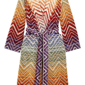 Zags Terry Cloth Robe by Missoni