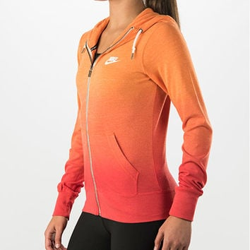 Women's Nike Gym Vintage Dip-Dye Full-Zip Hoodie