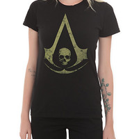 Assassin's Creed IV: Black Flag Logo Girls T-Shirt