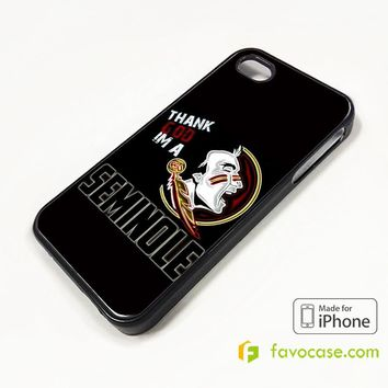 FLORIDA STATE FSU COLLEGE FOOTBALL 2 iPhone 4/4S 5/5S/SE 5C 6/6S 7 8 Plus X Case Cover