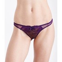 L'AGENT BY AGENT PROVOCATEUR - Mia mesh thong | Selfridges.com