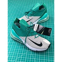 Nike Air Max 270 Flyknit Emerald Womens | Ah6803-300 Sport Running Shoes
