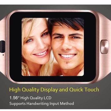 2018 New Fashion Smart Watch Men and Ladies With SIM Card Slot
